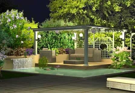 3 astuces simples pour bien clairer le jardin i for Eclairage exterieur pour jardin