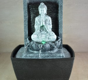 Fontaine déco bouddha