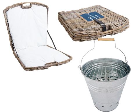 Accessoires piquenique plage barbecue