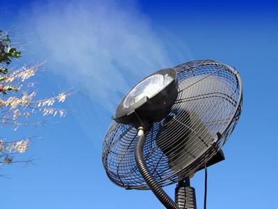 Brumisateur ventilateur terrasse et jardin