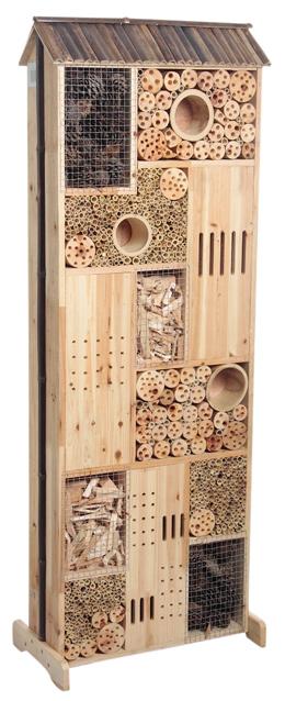 Hotel insectes abeilles bourdons papillon