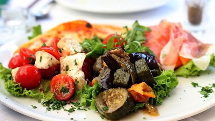 Recette pour plancha végétarienne