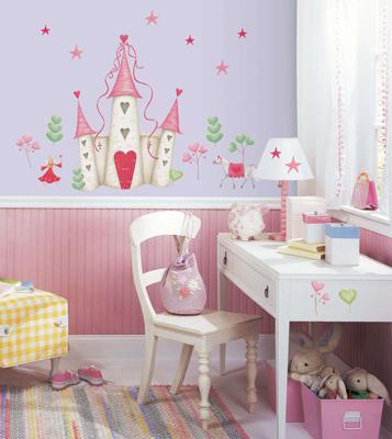 Sticker chambre enfant Chateaux