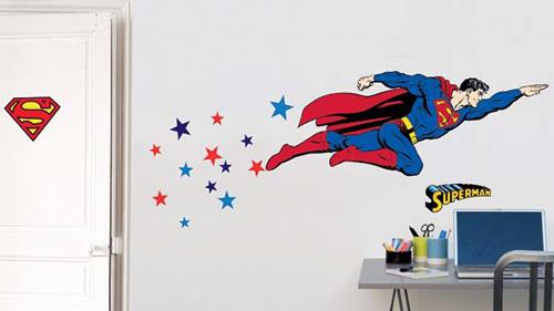 Sticker-chambre-enfant-Super-héros