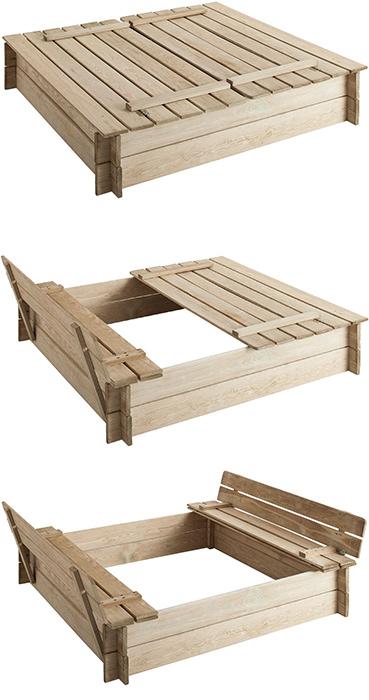 conseils pour installer un bac sable enfant jardindeco. Black Bedroom Furniture Sets. Home Design Ideas