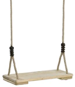 Balancoire enfant en bois et cordes de qualité