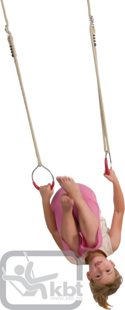 Anneaux gymnastique enfant jeux extérieur KBT