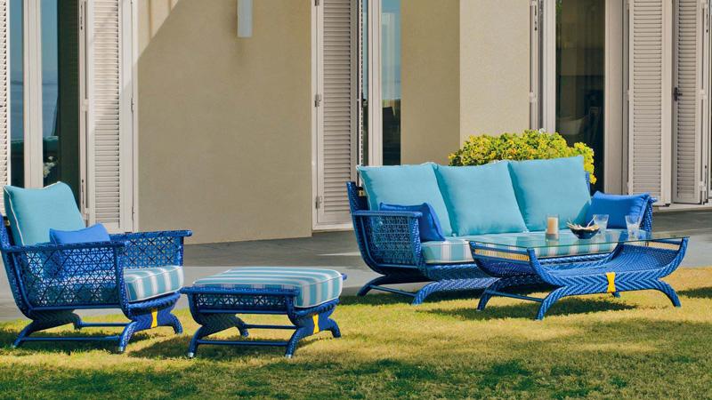 Acheter un salon d ext rieur moderne avec hevea jardin for Acheter salon jardin