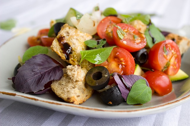 Recettes pour pique niquer salade gourmande tomates