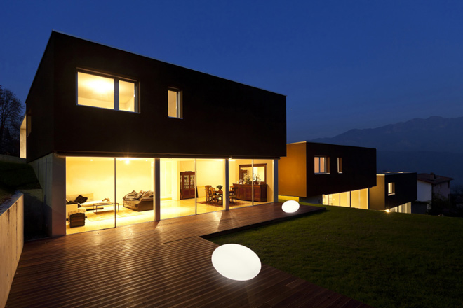 S lection luminaire design ext rieur jardindeco for Luminaire exterieur led design