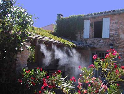 Brumisateur pour terrasse et jardin