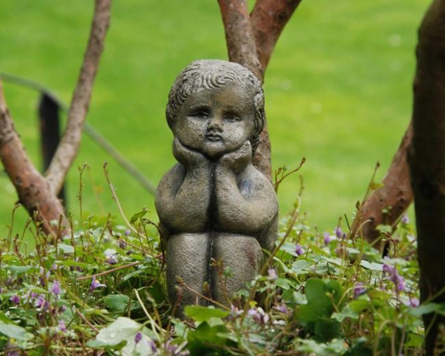 Statues de jardin en pierre