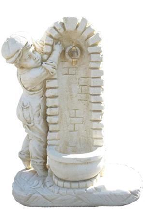 Statute de jardin fontaine en pierre