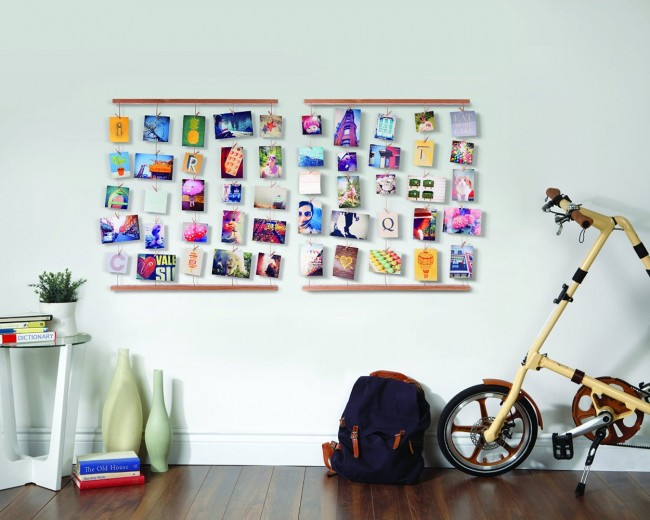 Porte-photos-mémos-mural-Hangit