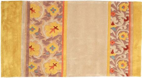 Intérieur style cosy tapis couleur