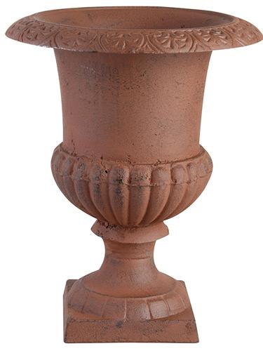 Déco de jardin en fonte Vase