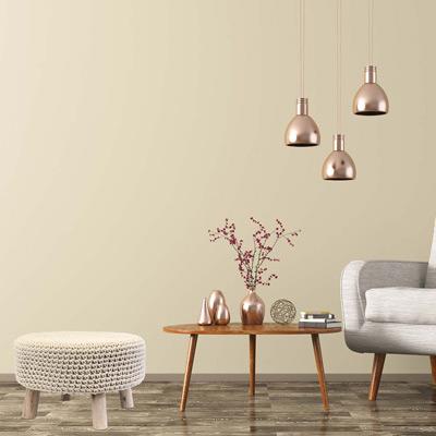 décoration style scandinave pouf salon