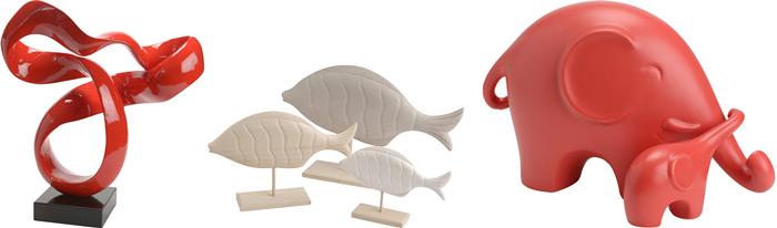 Acheter statuette déco design