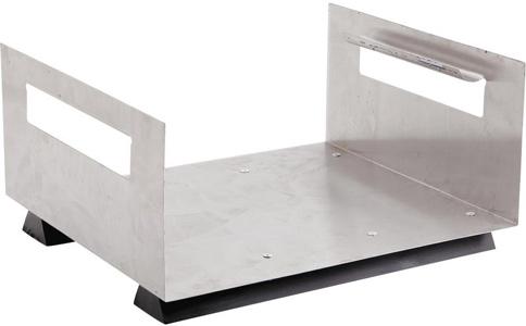 Porte buches déco design en métal