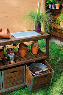 Préparer son jardin pour l'hiver rangement outils