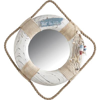 Déco thème mer Miroir bouée