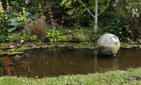 Cr er un bassin de jardin jardindeco blogjardindeco blog for Bache bassin jardin