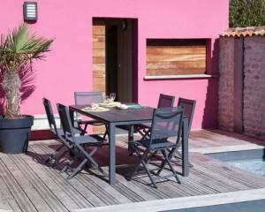 Nouveautés Proloisirs 2018 tables et chaise de jardin moderne