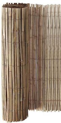 Cloture de jardin naturelle bambou
