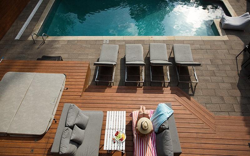 concevoir une terrasse moderne