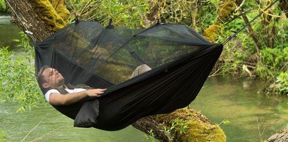 comment se protéger du moustique tigre hamac moustiquaire