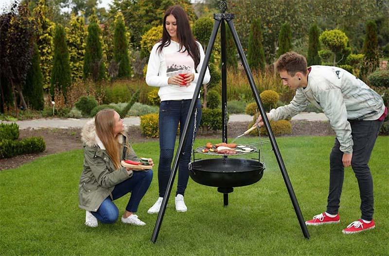 recette cuisine sur barbecue suspendu
